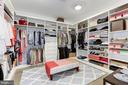 HER MASTER CLOSET - 9165 OLD DOMINION DR, MCLEAN