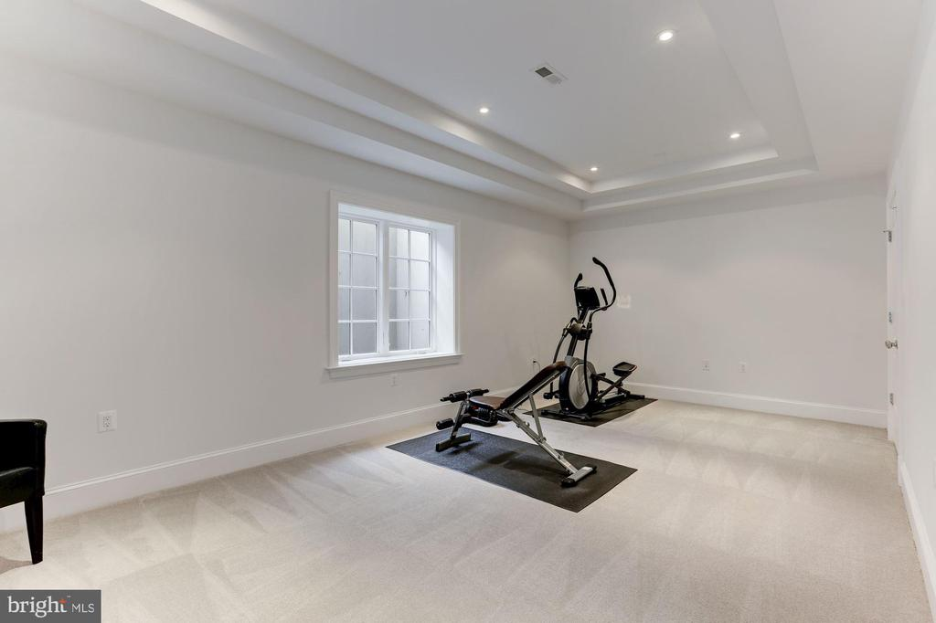 FITNESS ROOM/BEDROOM - 9165 OLD DOMINION DR, MCLEAN