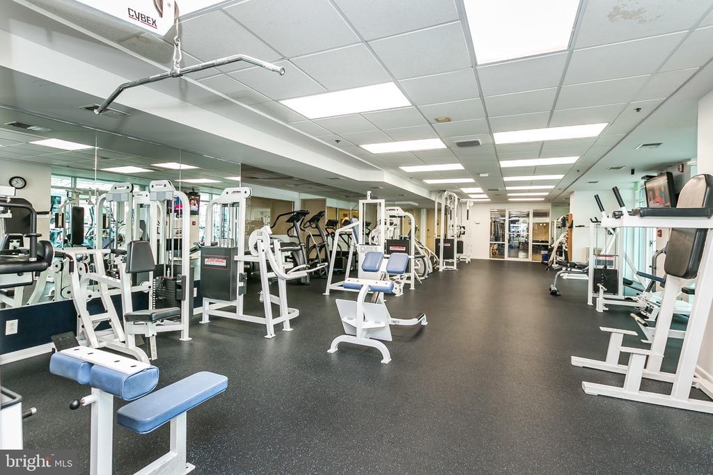 Community Amenities: Fitness Center - 632 PONTE VILLAS SOUTH #146, BALTIMORE
