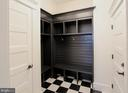 Mud room, photo of similar model - 407 PLUM ST SW, VIENNA