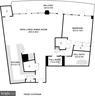 Floor Plan - 1444 sq ft - 1200 CRYSTAL DR #1712, ARLINGTON