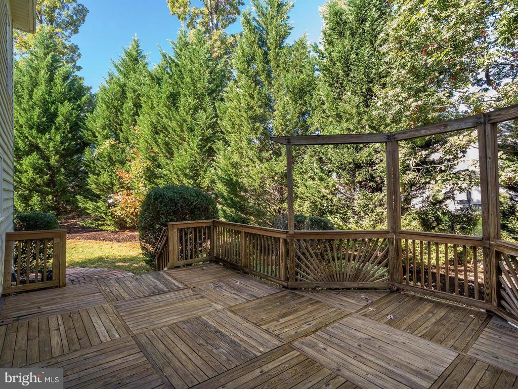 Full Deck for Barbequing - 4522 FAIRWAY DOWNS CT, ALEXANDRIA