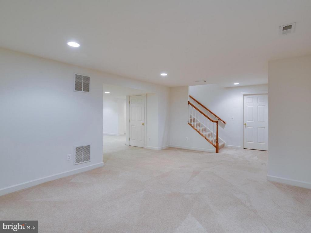 Fully Finished Basement - 4522 FAIRWAY DOWNS CT, ALEXANDRIA