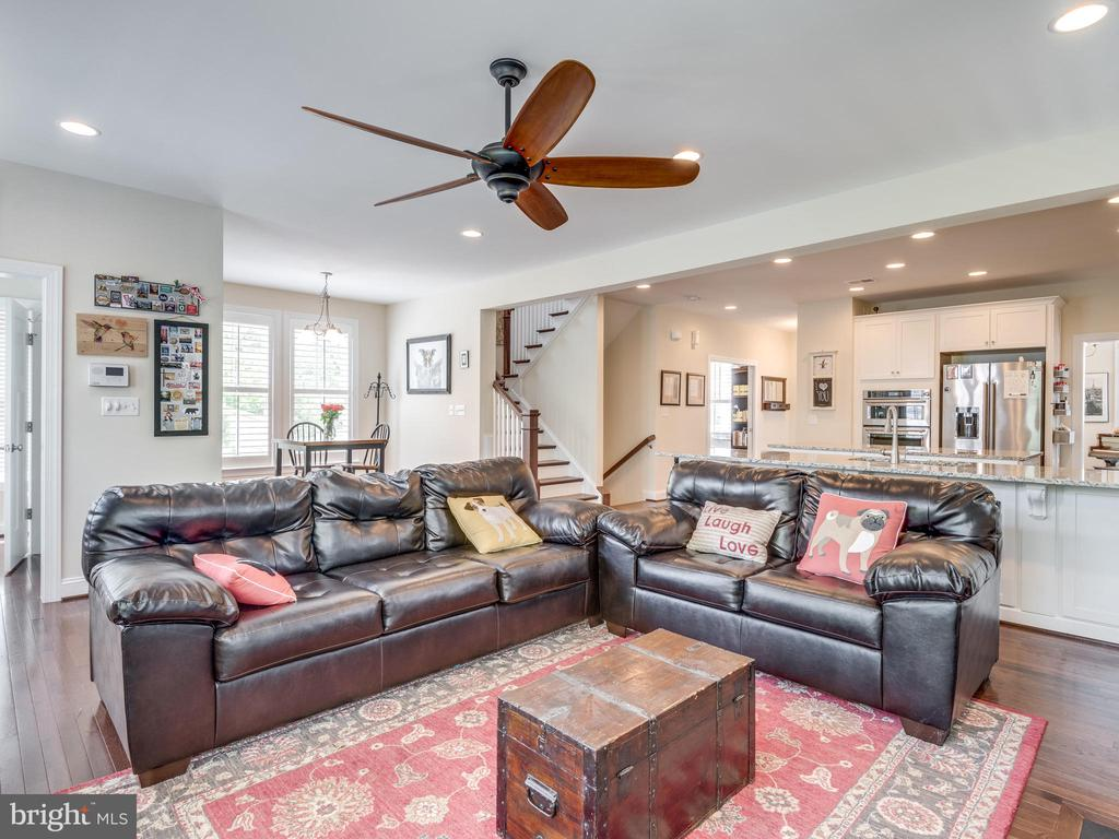 So much space here! Walks right out to the back! - 624 SPRING ST, HERNDON