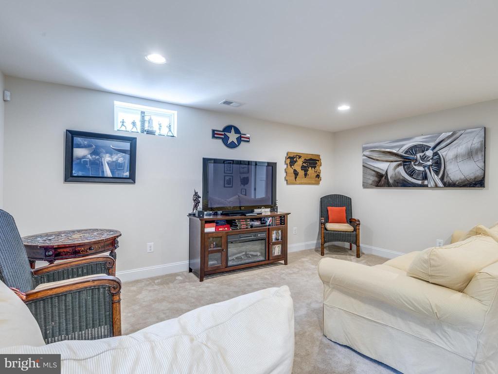 HUGE and FINISHED basement! - 624 SPRING ST, HERNDON