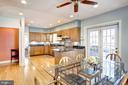Large Open Kitchen with Breakfast Area - 1373 LOCUST RD NW, WASHINGTON