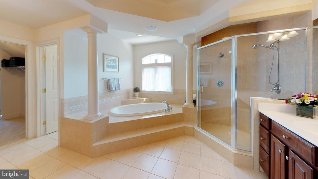 Luxurious mba with soaking tub and massive closet - 18733 GROVE CHURCH CT, LEESBURG