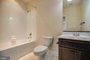 LOWER LEVEL FULL BATHROOM - 0 KELLAN LN, FREDERICKSBURG