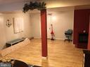 Family room in basement - 127 ROCK HILL CHURCH RD, STAFFORD