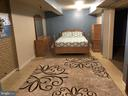 Bedroom in basement - 127 ROCK HILL CHURCH RD, STAFFORD