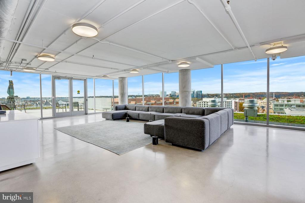 Spectacular Views from Community Space - 1111 24TH ST NW #PH105, WASHINGTON