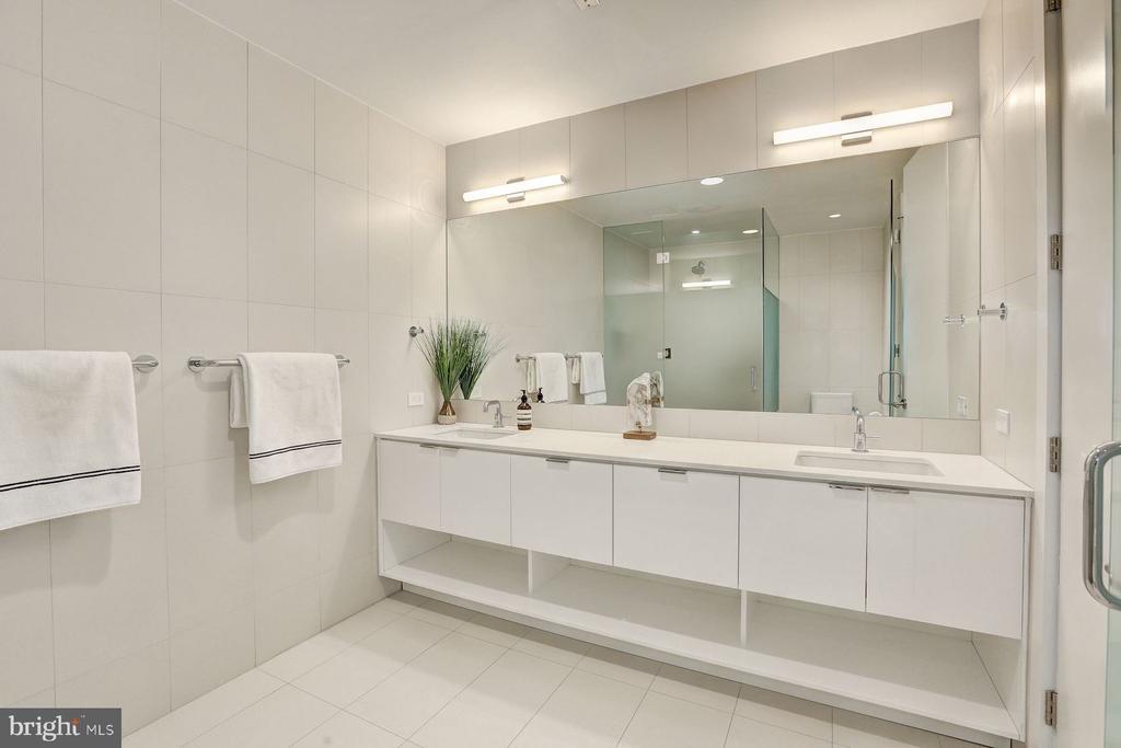 Spa Inspired Master Bathroom - 1111 24TH NW #PH105, WASHINGTON