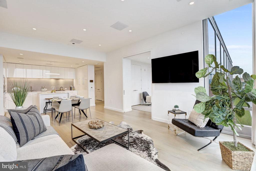 Fully Integrated Alexa Smart Home - 1111 24TH NW #PH105, WASHINGTON