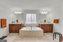 Master bath with soaking tub - 12 DINAS WAY, STAFFORD