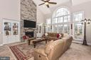 The central focus is the 22' high~2-story Family! - 42617 NICKELINE PL, CHANTILLY