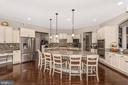 Huge spacious Kitchen is always the best option! - 42617 NICKELINE PL, CHANTILLY