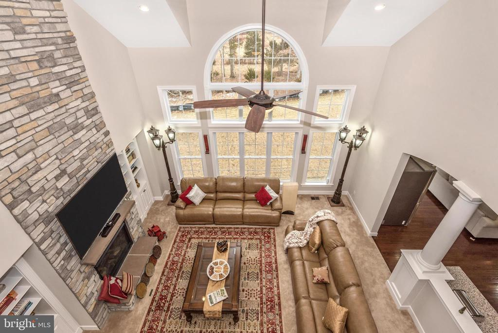 2nd story overlook from the Bridge upstairs! - 42617 NICKELINE PL, CHANTILLY