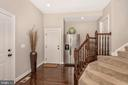 Mudroom entrance from all three garages! - 42617 NICKELINE PL, CHANTILLY