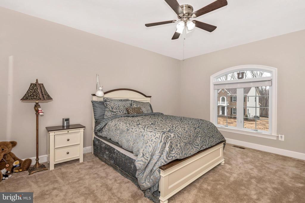 3rd Bedroom.. upper floor with 9.6' ceilings! - 42617 NICKELINE PL, CHANTILLY