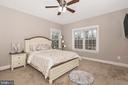 4th Bedroom.. All bedrooms have ceiling fans! - 42617 NICKELINE PL, CHANTILLY