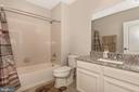 Lower level Bathroom 6! - 42617 NICKELINE PL, CHANTILLY