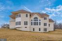 Rear Elevation and Backyard! - 42617 NICKELINE PL, CHANTILLY
