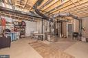 Storage area.. or finish to expand Game room! - 42617 NICKELINE PL, CHANTILLY