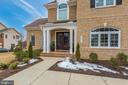 Front door and Landscaping! - 42617 NICKELINE PL, CHANTILLY