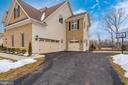 Driveway leading to 3 car garages! - 42617 NICKELINE PL, CHANTILLY