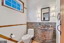 main level half bath - 37354 JOHN MOSBY HWY, MIDDLEBURG