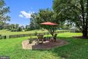 Fenced backyard for dogs w/ shed - 37354 JOHN MOSBY HWY, MIDDLEBURG