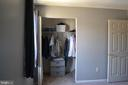Master BR  Closet #1 - 2512 LITTLE VISTA TER, OLNEY