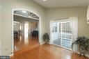 Sun room goes out to the deck and the fenced rear - 46675 ASHMERE SQ, STERLING