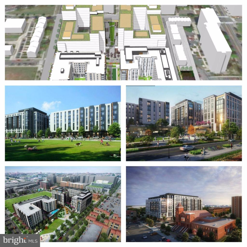 Renderings of the development across the street! - 55 M ST NW #102, WASHINGTON