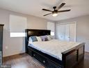 Master with an extra deep closet - 3806 PORT HOPE PT, TRIANGLE