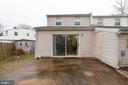 Large backyard - 3806 PORT HOPE PT, TRIANGLE