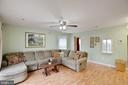Warm family room ready for you to relax - 3806 PORT HOPE PT, TRIANGLE