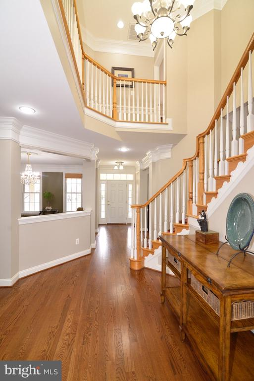 Entrance View - 16333 LIMESTONE CT, LEESBURG