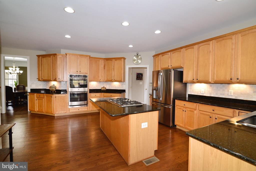 Huge functional and updated kitchen! - 16333 LIMESTONE CT, LEESBURG