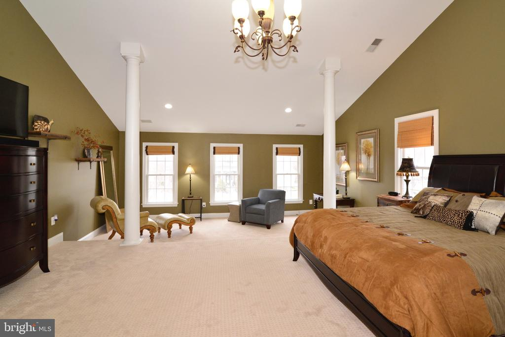 Master with Vaulted Ceilings - 16333 LIMESTONE CT, LEESBURG
