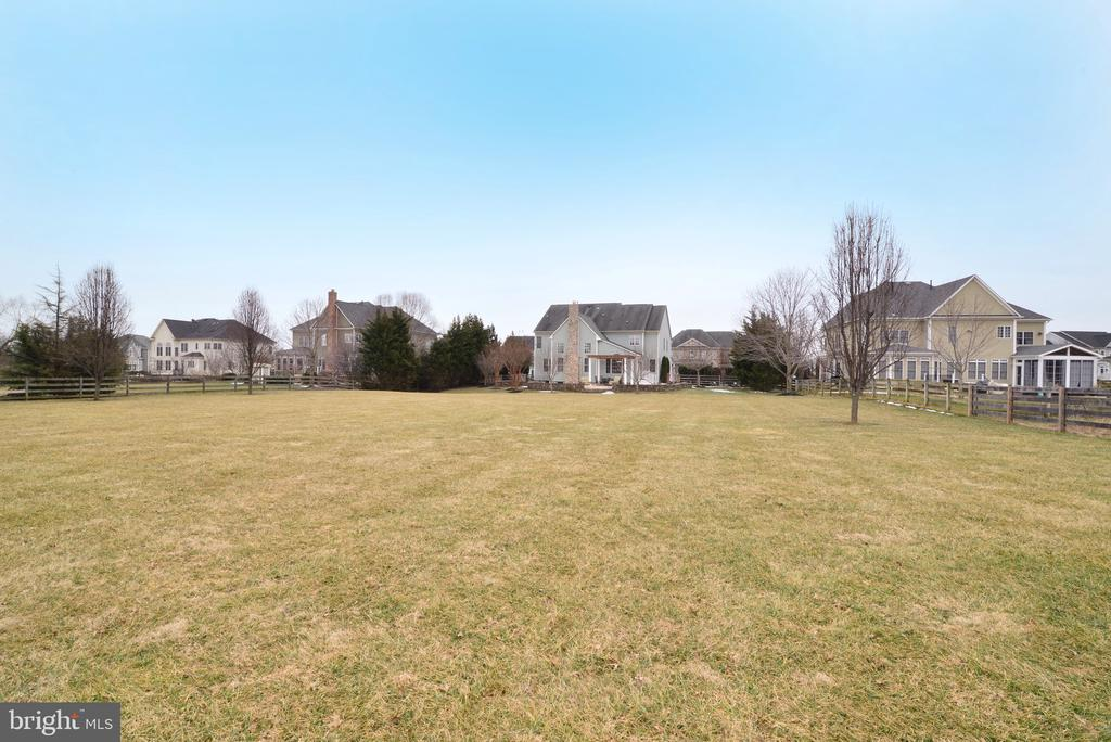 Wow!  HUGE yard! - 16333 LIMESTONE CT, LEESBURG