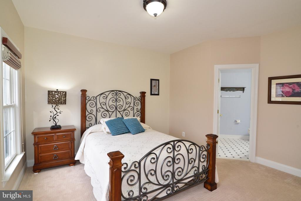 Guest Bedroom with Full Private Bath - 16333 LIMESTONE CT, LEESBURG
