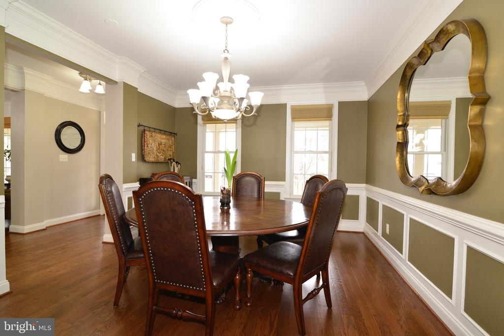 Formal Dining Room - 16333 LIMESTONE CT, LEESBURG