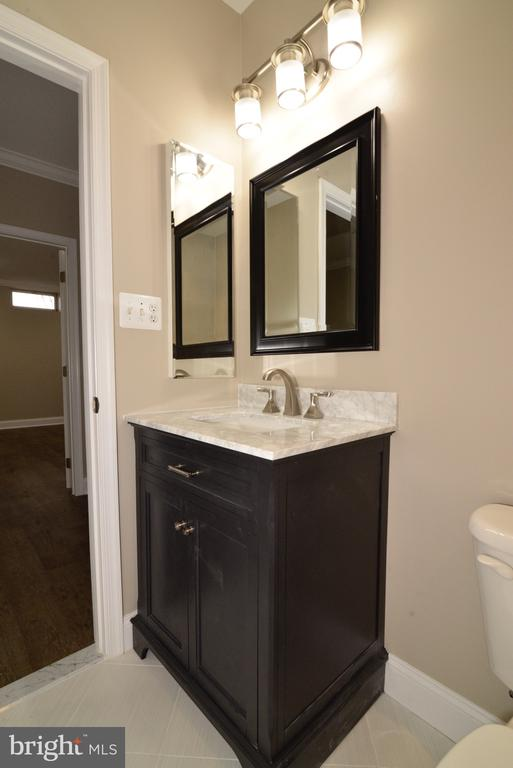 Lower Level Bathroom - 16333 LIMESTONE CT, LEESBURG