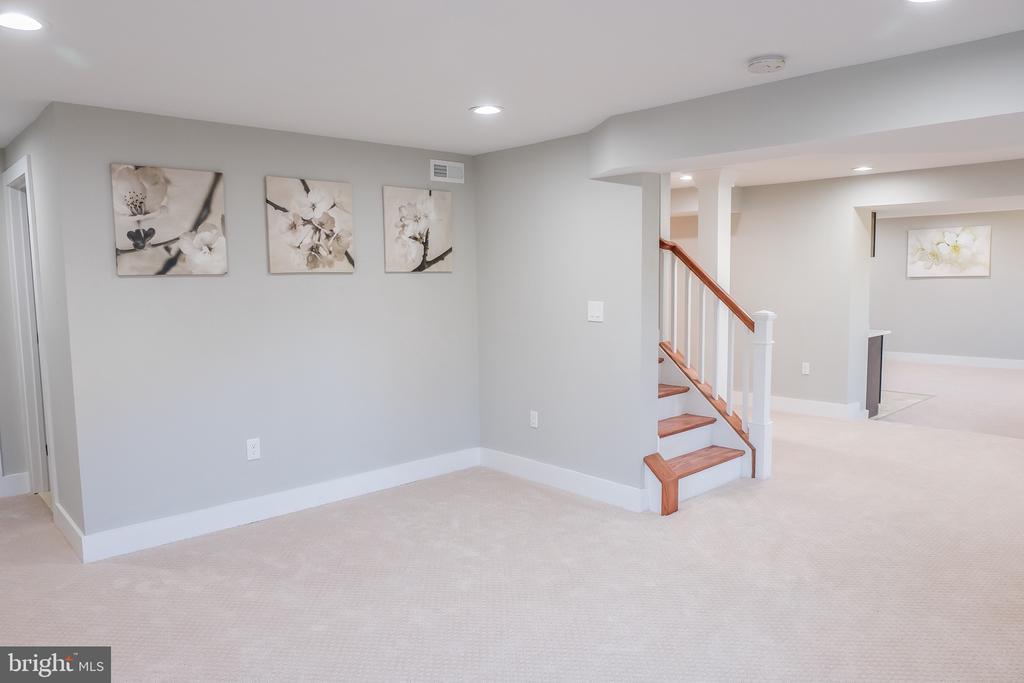 Spacious basement with 5th bedroom - 1812 N BARTON ST, ARLINGTON