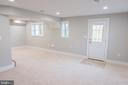 Basement with loads of natural light and walk out - 1812 N BARTON ST, ARLINGTON
