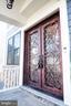 Wrought Iron French Doors - 1812 N BARTON ST, ARLINGTON