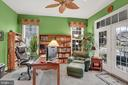 Main floor office. with private porch - 13890 LEWIS MILL WAY, CHANTILLY