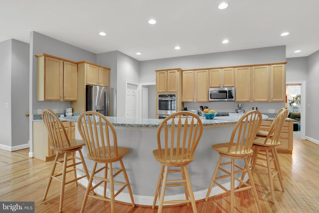 Extra large open kitchen - 13890 LEWIS MILL WAY, CHANTILLY