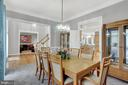 Dining leading to kitchen - 13890 LEWIS MILL WAY, CHANTILLY